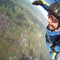 Foto vom Fallschirmspringen